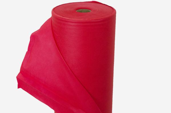 Netkaná textília červená 55 g/m²