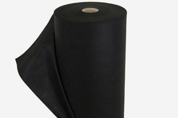 UV Netkaná textília čierna 50 g/m²