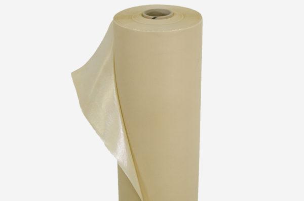 Netkaná textília béžová, laminovaná  60 g/m²
