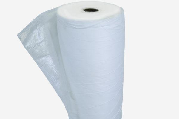 Netkaná textília biela, laminovaná, antistatická 27 g/m²