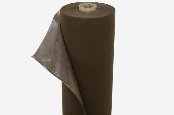 Netkaná textília hnedá, laminovaná 60 g/m²