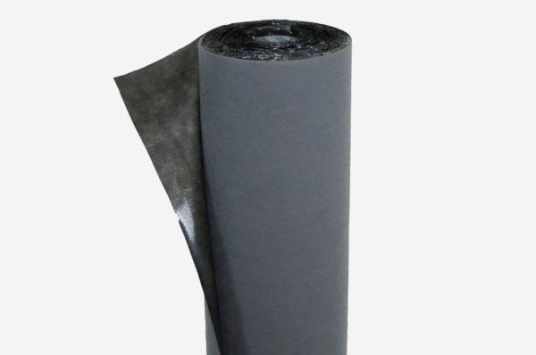 Netkaná textília šedá, laminovaná 27 g/m²