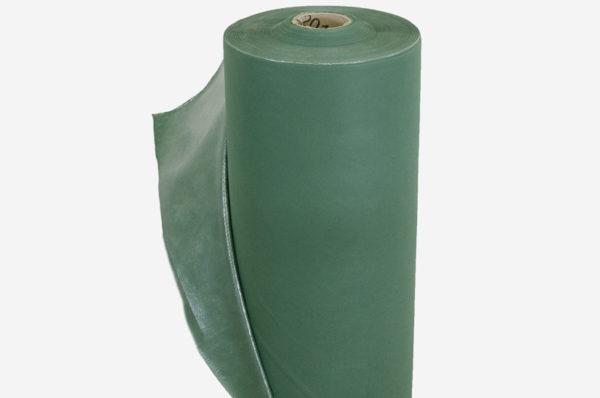 Netkaná textília zelená, laminovaná 80 g/m²