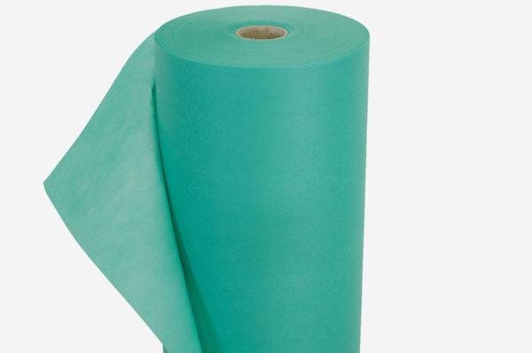 Netkaná textília zelená 17 g/m²