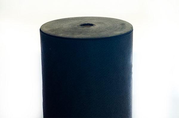 Vpichovaná netkaná textília čierna 100 g/m²