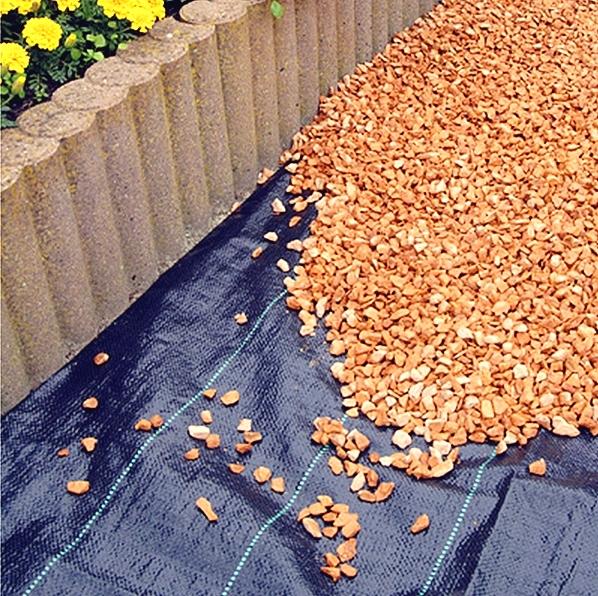tkaná textília pod skalky