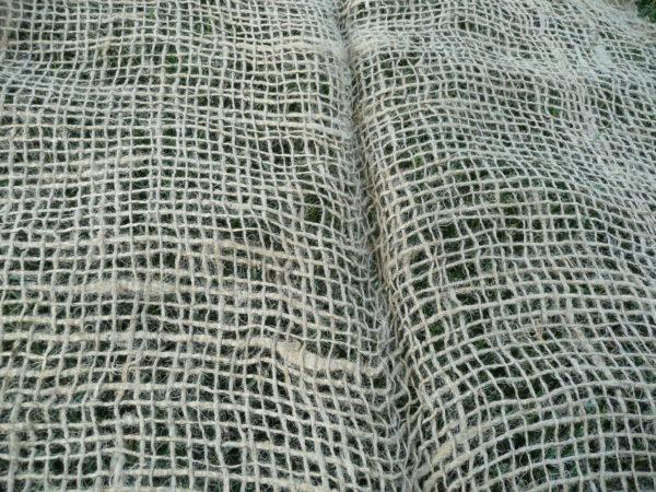 Jutová rohož, geotextília 250 g/m², 1,22 m x 50 m
