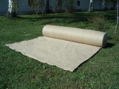 """Netkaná jutová textília """"filc"""" 300 g/m², 1 m x 30 m"""