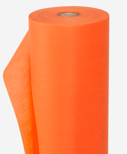 Netkaná textília oranžová 70 g/m²